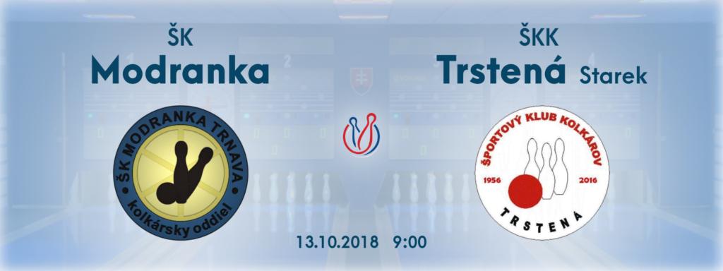 5 kolo interliga sk modranka skk trstena starek kolky 2018 2019